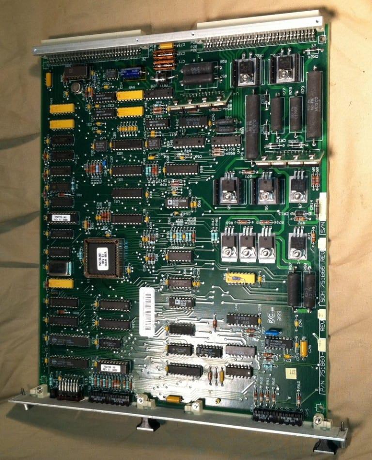 Siemens Dimension Cuvette PCB 800