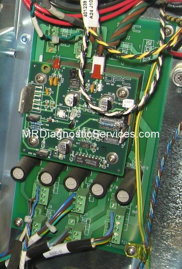 Siemens Immulite 2000 DC power distribution