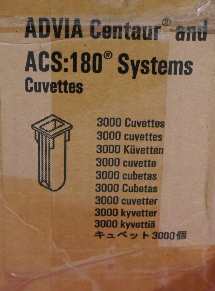 Advia Centaur Cuvettes