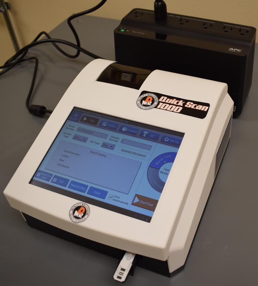 Canine Progesterone Testing Machine